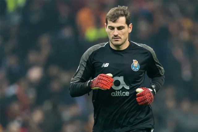 Iker Casillas fue operado de urgencia por un infarto