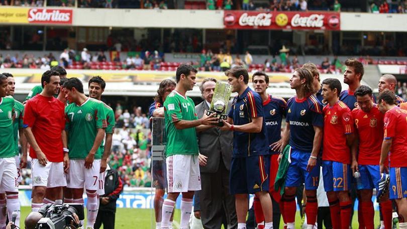 México vs España 2010