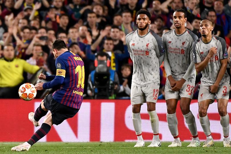 Messi hizo su gol 600 de gran manera ante Liverpool