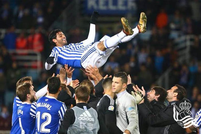 La Real Sociedad todavía guarda buenos recuerdos de Carlos Vela