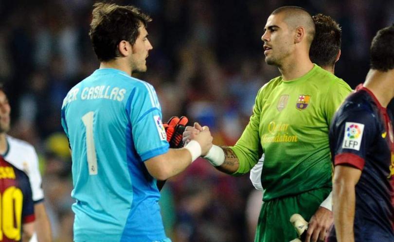 Iker Casillas, Víctor Valdés