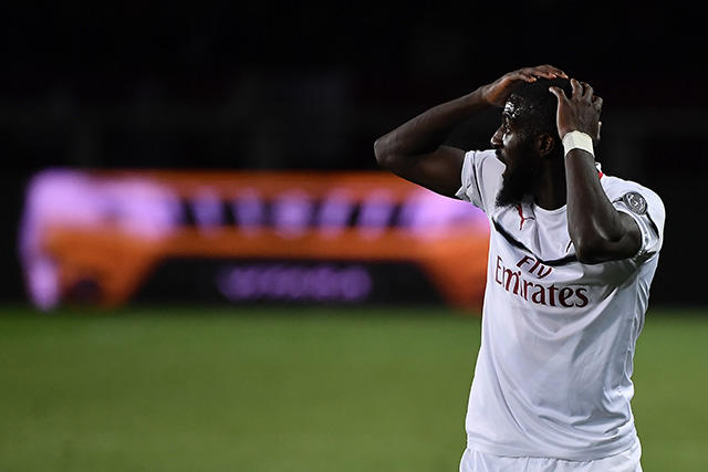 Bakayoko tuvo una discusión con Gattuso