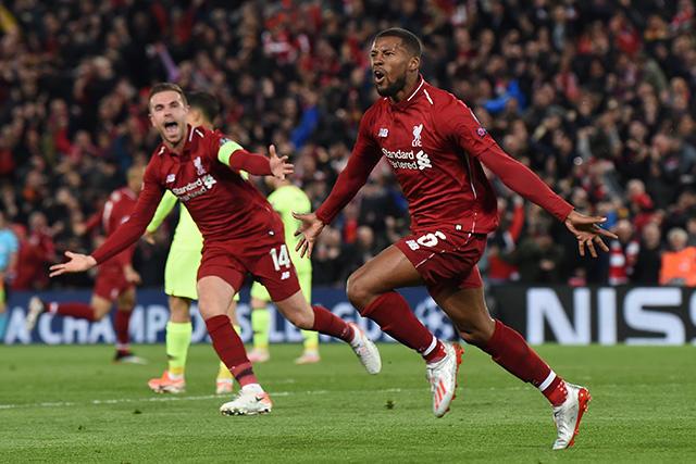 Liverpool es el primer finalista de Champions League