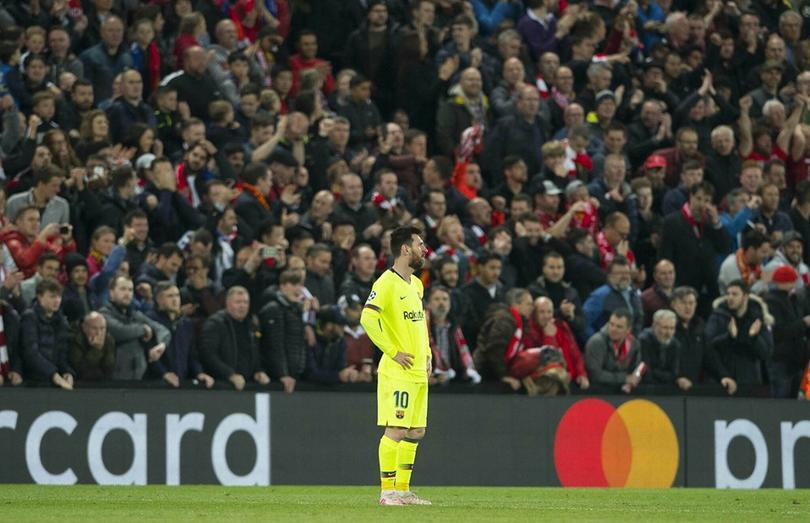 El escalofriante registro de Messi cuando Barça es eliminado en Champions