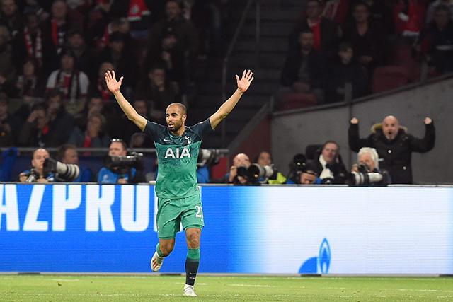 Lucas Moura anotó un hat-trick para meter al Tottenham en su primera final de Champions