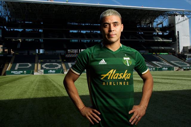 Brian Fernández dejó Necaxa para ser jugador del Timbers