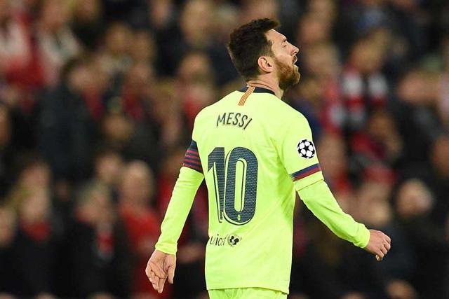 Messi no apareció en Anfield y el Liverpool le pasó por encima al Barcelona