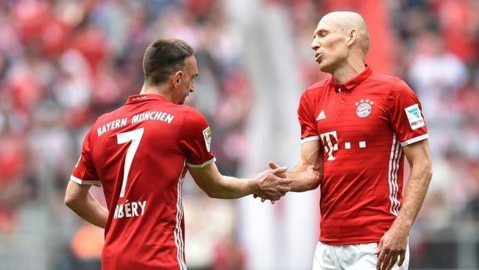 Ribery y Robben