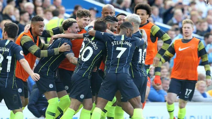 Jugadores celebran euforicos