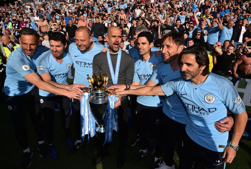 Manchester City campeón 2018/2019