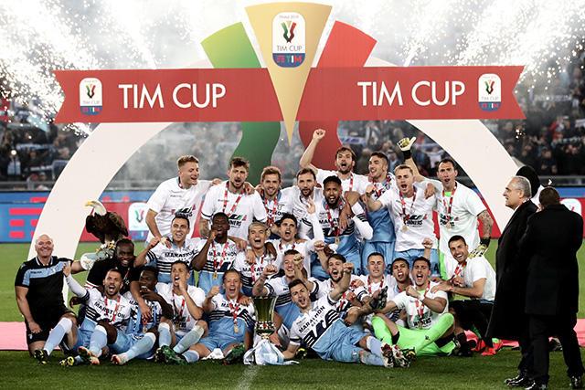 Lazio se coronó campeón de la Copa de Italia contra Atalanta