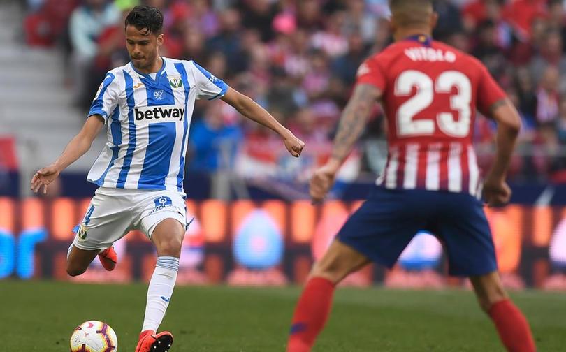 Diego Reyes podría jugar su último partido con Leganés