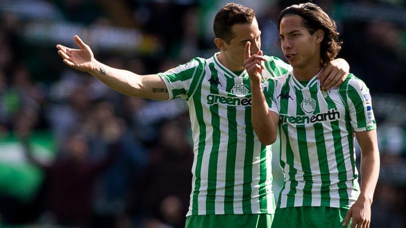 Andrés Guardado y Diego Lainez finalizarán LaLiga en el Santiago Bernabéu