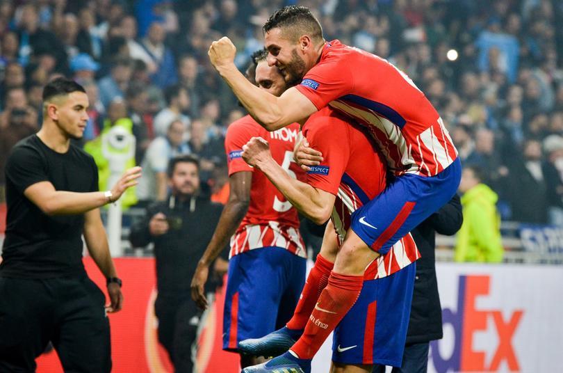 Atlético festeja