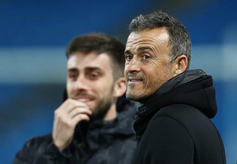 Luis Enrique actual entrenador de la Selección de España