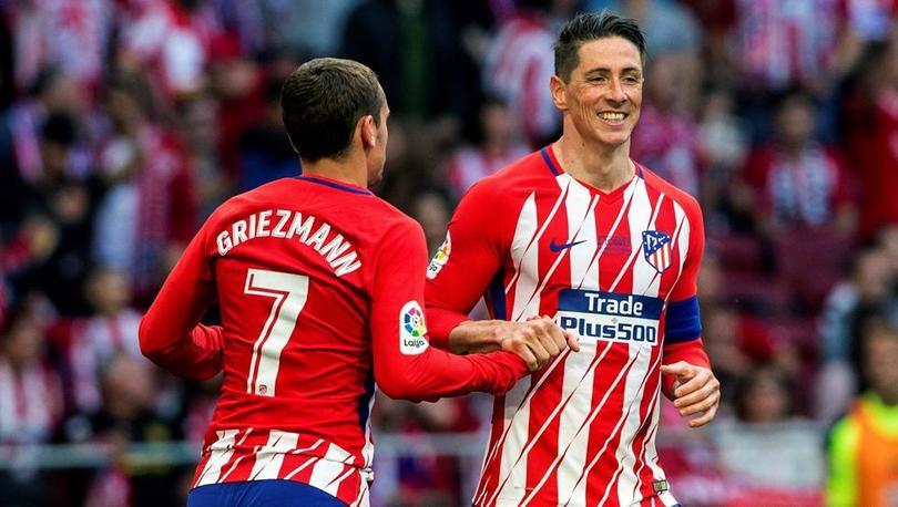 Antoine Griezmann y Fernando Torres