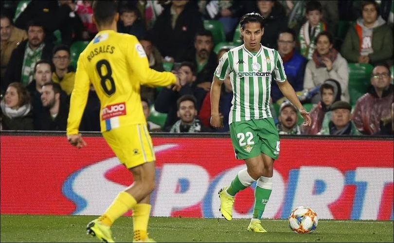 Setién no le regalará la titularidad a Diego Lainez