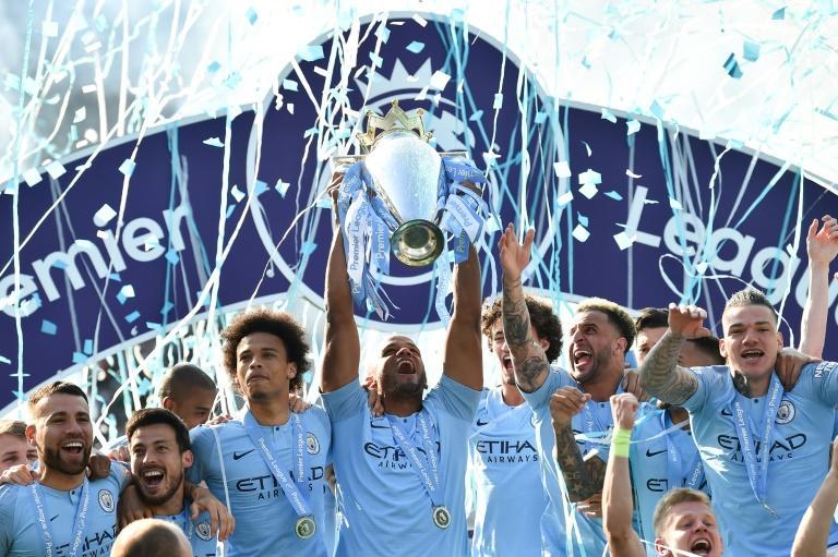 Manchester City es campeón de la Premier League
