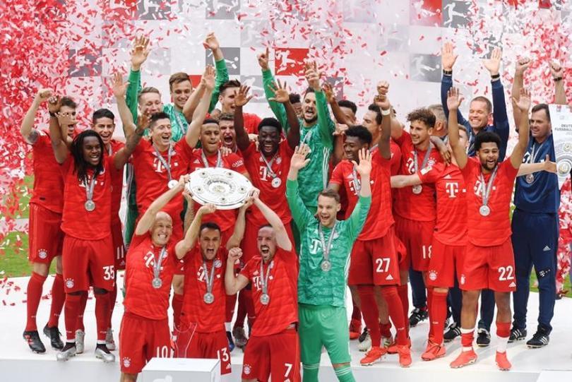 Bayern Múnich es campeón de la Bundesliga