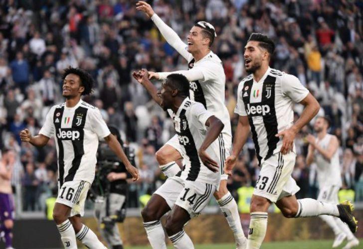 Juventus es campeón en la Serie A