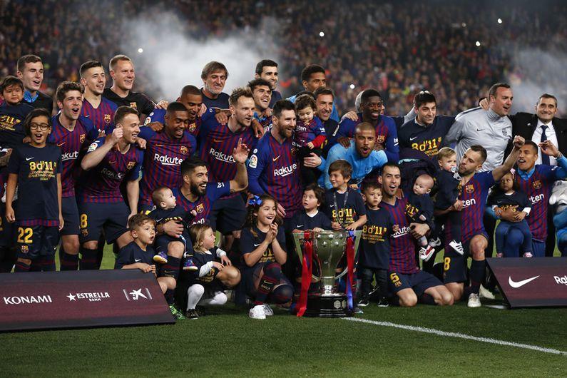 Barcelona es campeón de La Liga