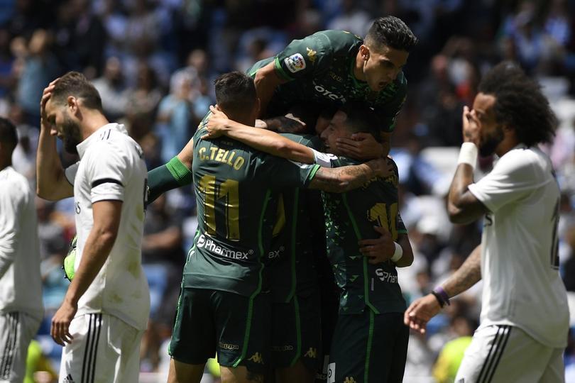 El Betis de Guardado y Lainez cierran La Liga venciendo al Madrid