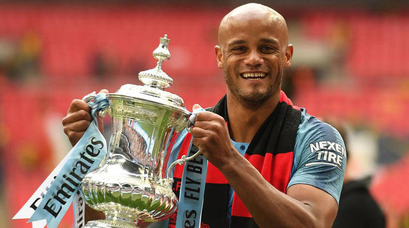 Vicent Kompany dejo al Manchester City