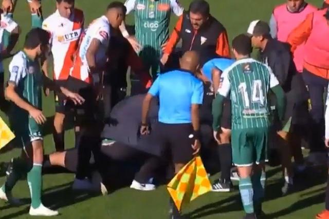Fallece el árbitro Víctor Hugo Hurtado en un partido de la liga de Bolivia