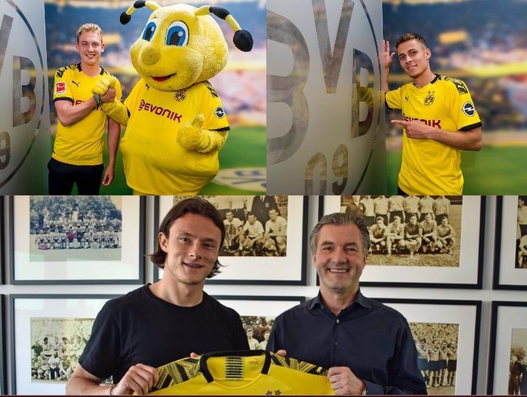 Brandt, Schulz y Hazard, los nuevos jugadores del Dortmund