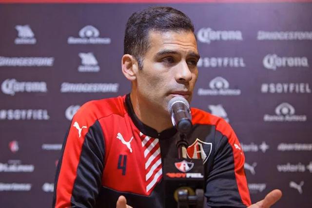 Rafael Márquez anunció su salida del Atlas