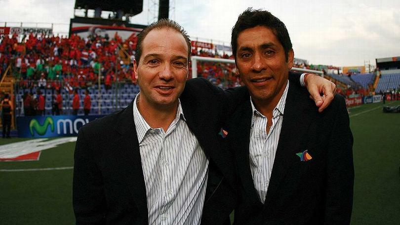 Jorge Campos y Luis García
