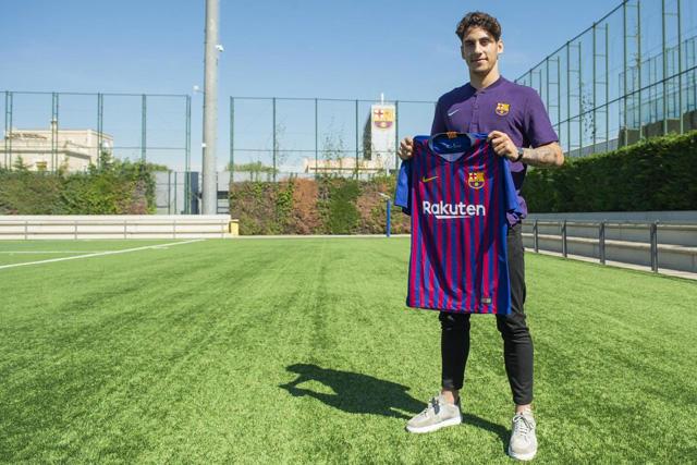 Ludovit es nuevo jugador del Barcelona