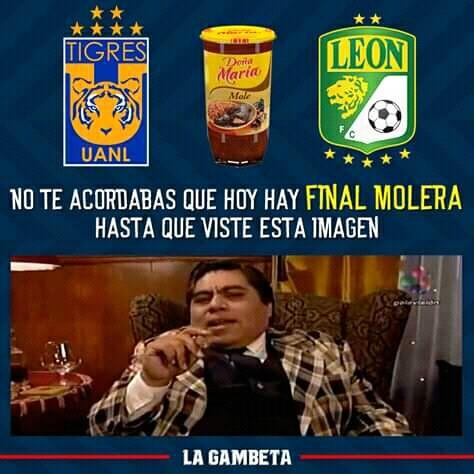 Memes del Tigres vs León