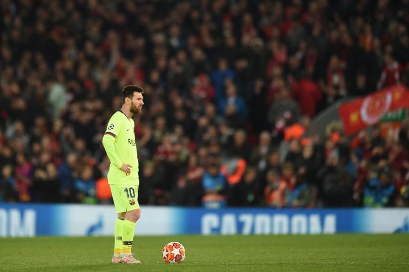Lionel Messi en Anfield