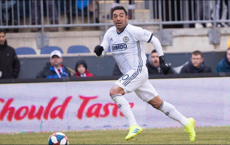 Marco Fabián con Philadelphia Union