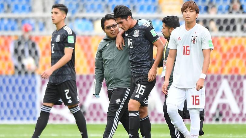 Roberto Meraz será baja de la Selección Sub-20