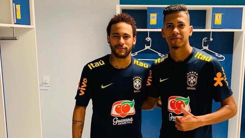 Neymar y Weverton