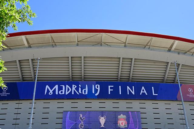 El Metropolitano de Madrid es la sede de la final de la Champions 2019