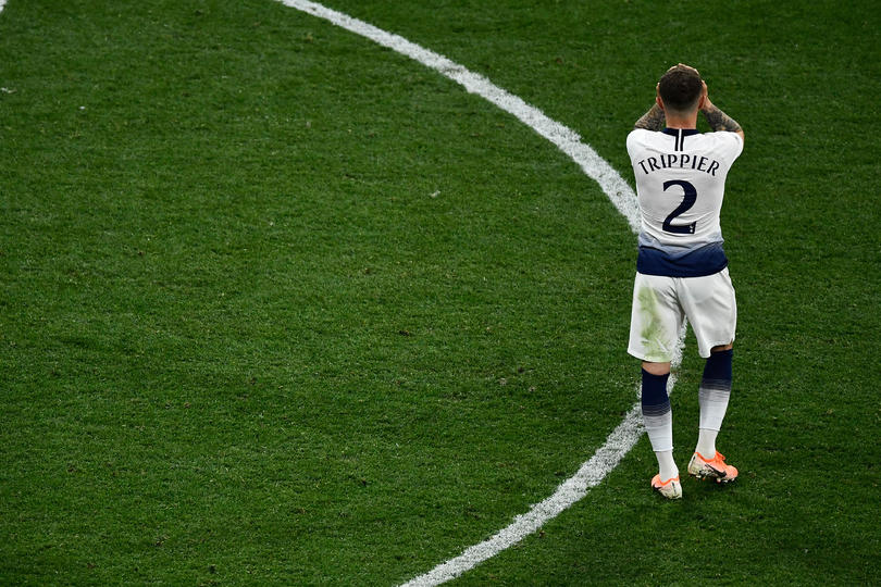 Trippier tras perder la final de Champions League