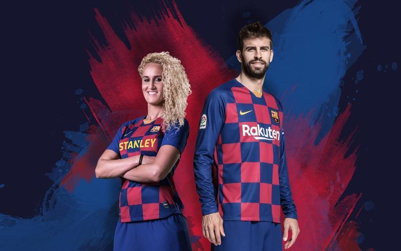 Uniforme de la temporada 2019-2020 del Barcelona