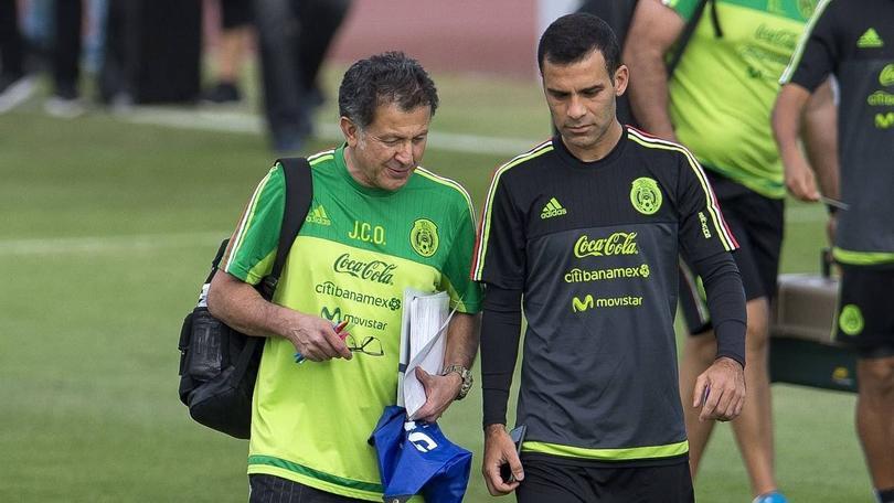 Rafa Márquez y Juan Carlos Osorio