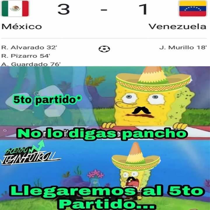 México vs Venezuela