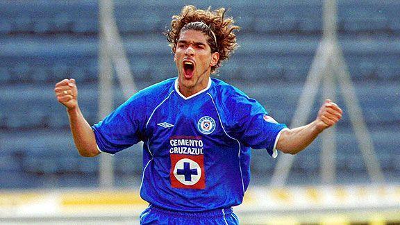 Sebastián Abreu con Cruz Azul
