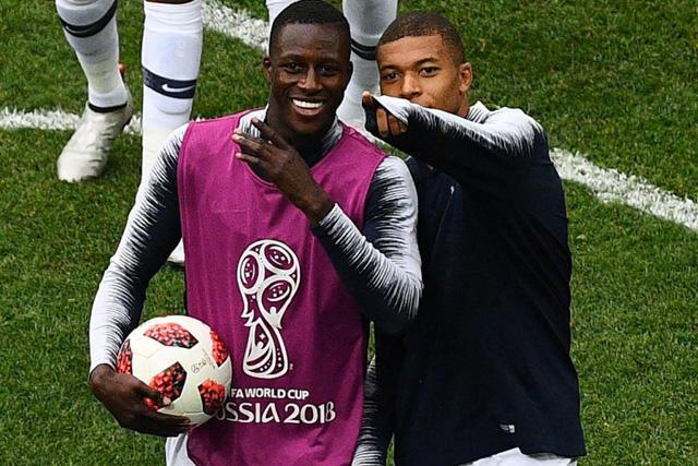 Mendy y Mbappé