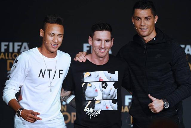 Messi, Cristiano y Neymar lideran la lista de los deportistas con más ingresos