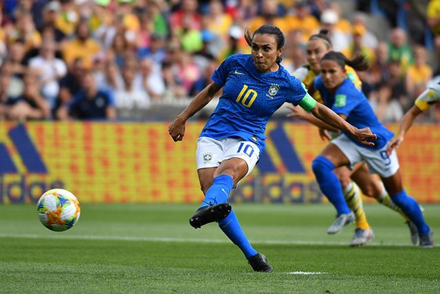 Marta hizo historia en el partido contra Australia