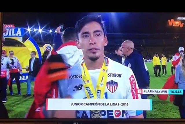 Rubens Sambueza felicitó a su hermano por el bicampeonato en Colombia