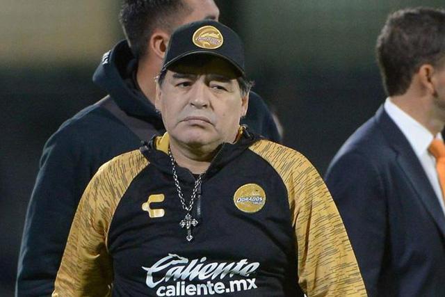 Diego Maradona no seguirá en Dorados
