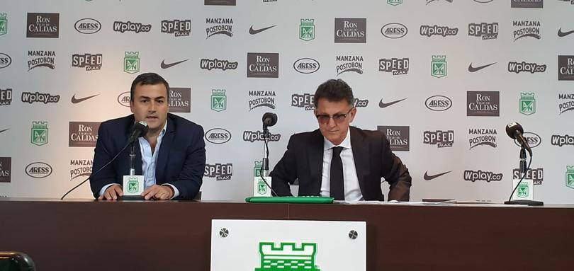 Presentación de Juan Carlos Osorio como técnico del Atlético Nacional