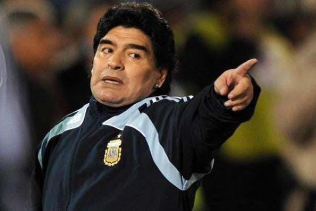 Diego Maradona se lanzó contra la Selección Argentina